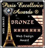 Paris Excellence Awards **BRONZE**